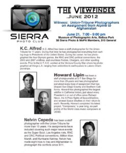 June 2012 Viewfinder Photo Club Newsletter