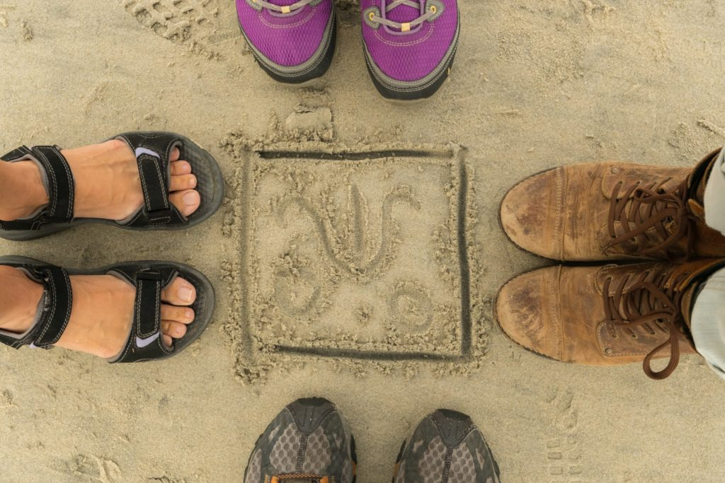 Dave Miller - Toes squared in Del Mar