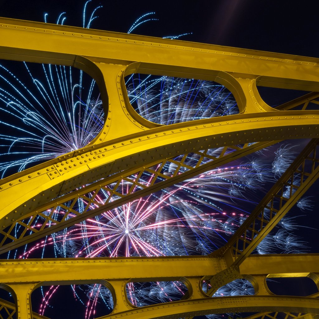 3rd - Richard Provencio - Bridge & Fireworks