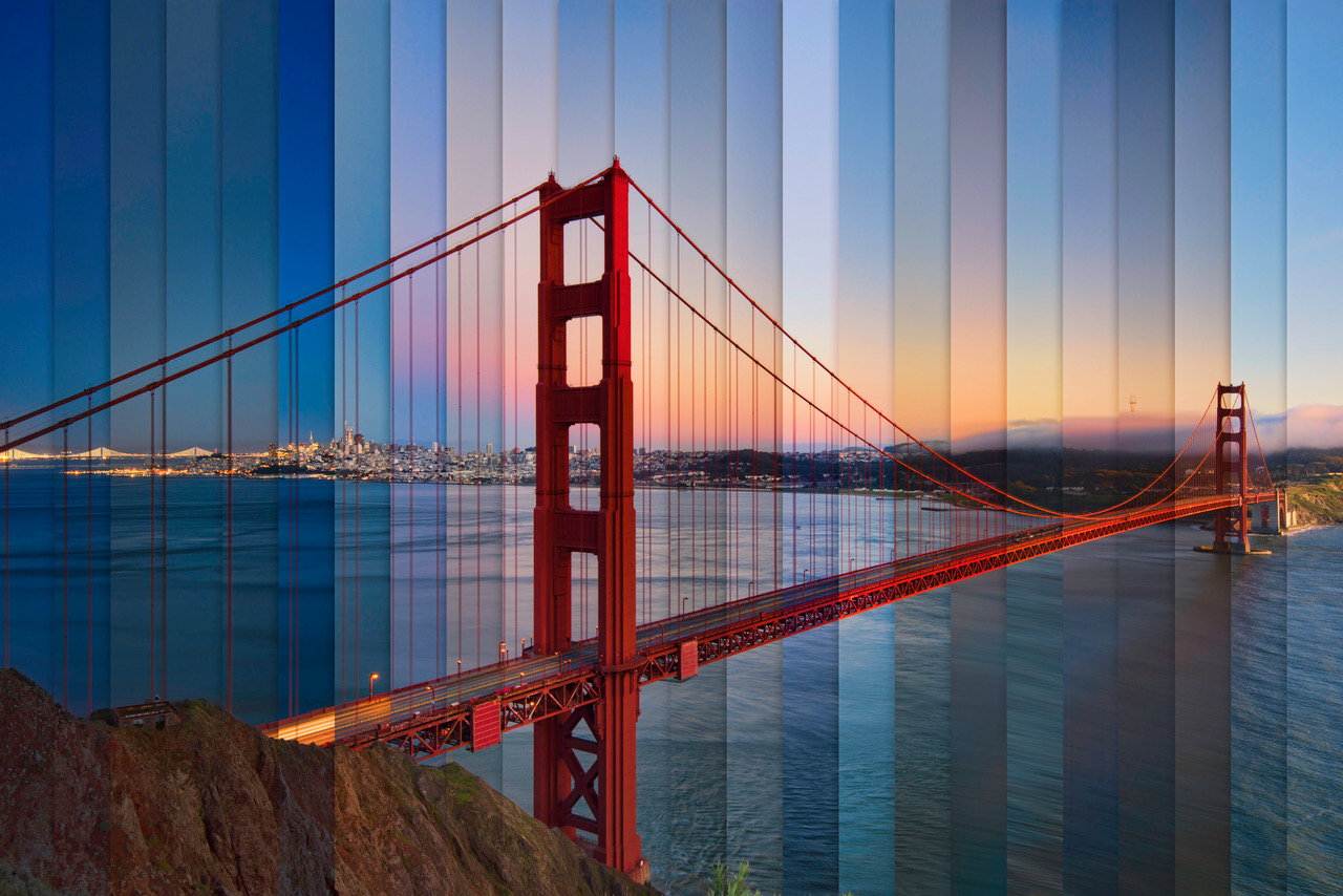 Chromatic Symphony Golden Gate (C) Lee Sie Photography