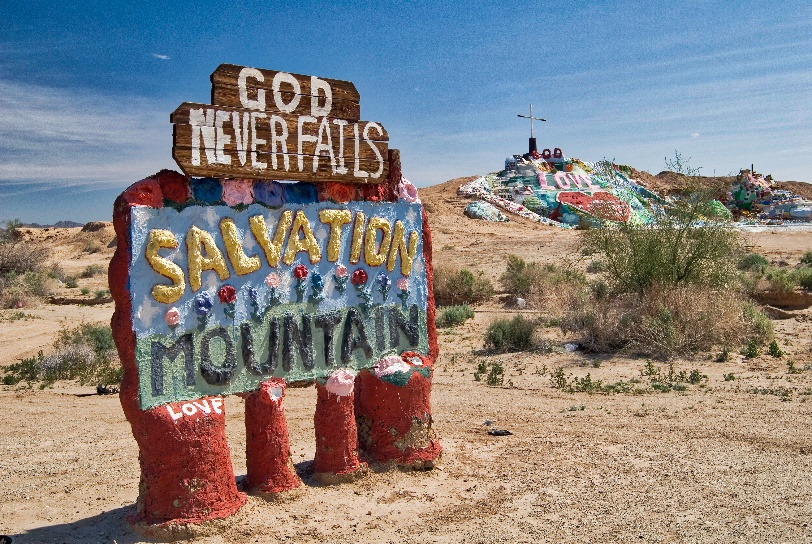 Salvation Mountain by Jim McGinn